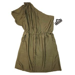 NWT Large One Shoulder Dress by Angie